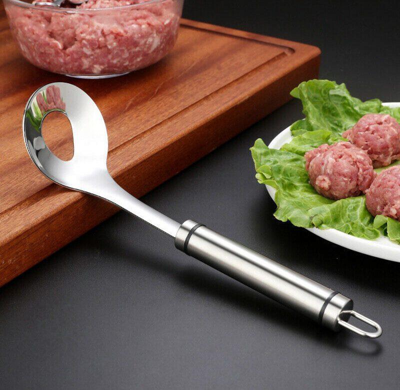 Lžíce na kuličky z mletého masa / tvořítko na masové koule (Viz foto)