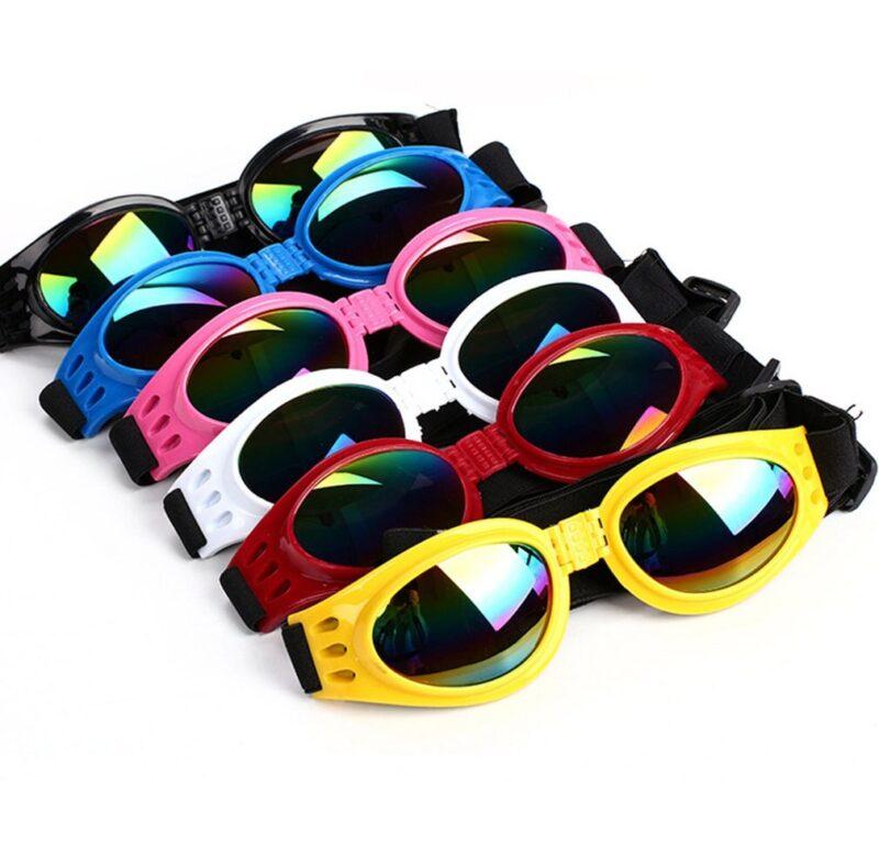 Brýle pro psa – ochrana proti větru, UV atd., 6 barev