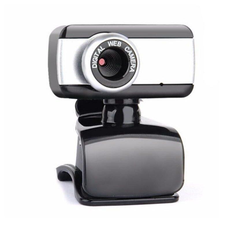 Kamera k notebooku / USB kamera (Černostříbrná)