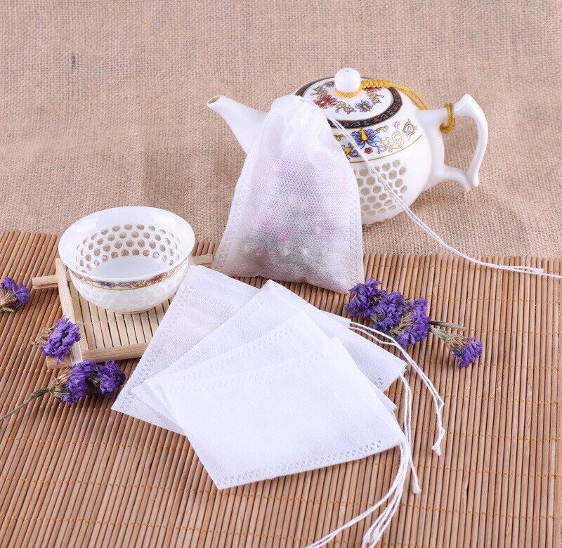 Prázdné sáčky na čaj / čajové pytlíky, 100 ks (100 ks)